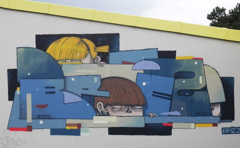 AZUREVA Street art
